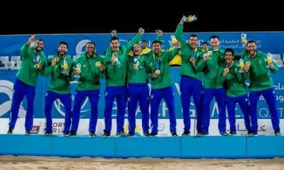 Time Brasil encerra como líder no número total de medalhas em Doha