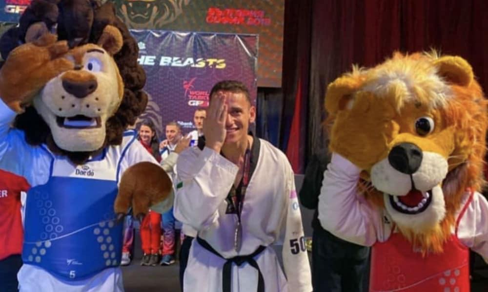 Ícaro Miguel taekwondo peso médio Jogos Olímpicos de Tóquio 2020