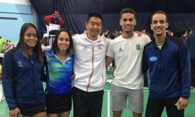 Equipe brasileira de badminton vai a quatro finais em Santo Domingo