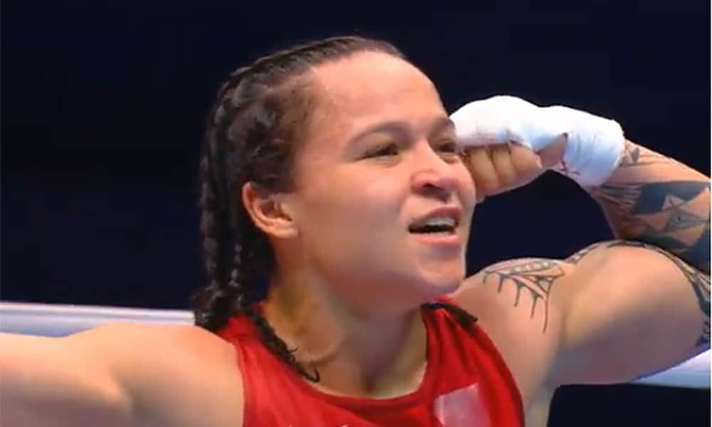 Bia Ferreira no Mundial de Boxe em Ulan-Ude