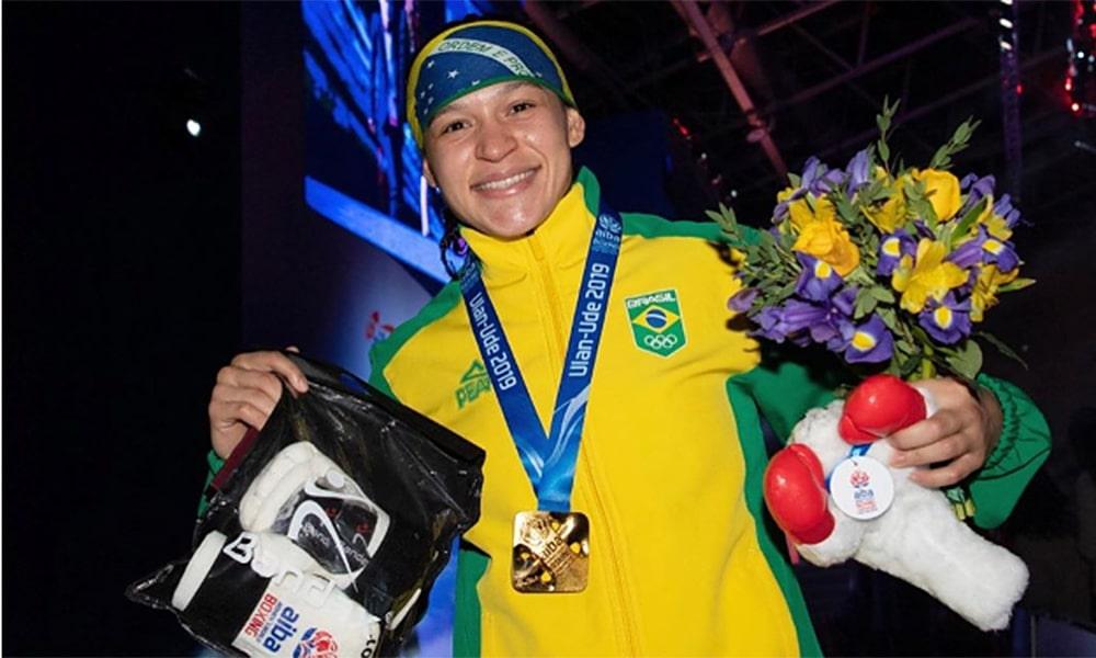Bia Ferreira no Mundial de Boxe brasil olimpíada