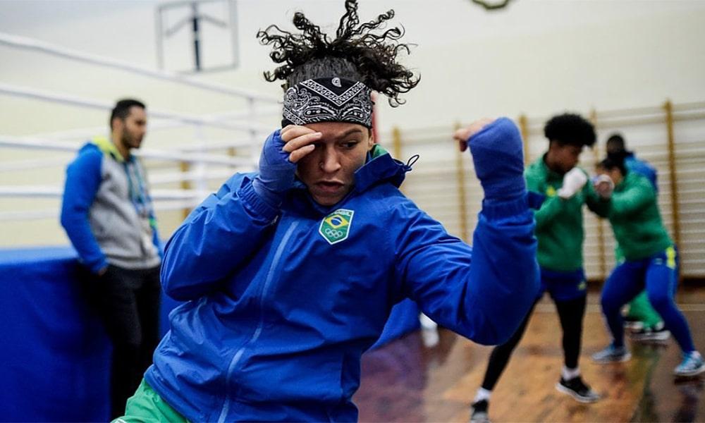 Bia Ferreira, boxe