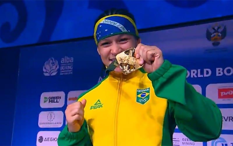 Beatriz Ferreira Bia Ferreira boxe 60kg Jogos Olímpicos de Tóquio
