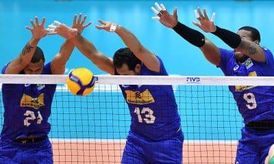 Brasil e Austrália na Copa do Mundo de vôlei masculino
