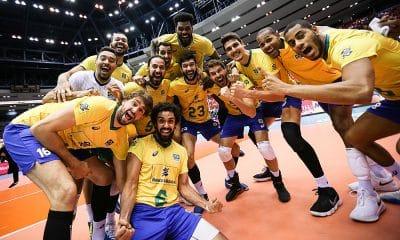 Brasil e Itália na Copa do Mundo de vôlei masculino