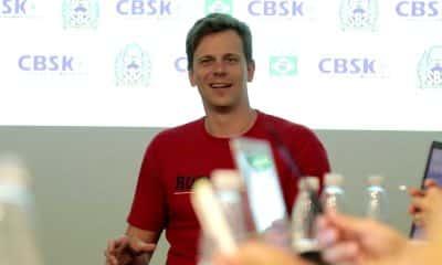 CBSk planeja Tóquio 2020 com o campeão olímpico Cesar Cielo