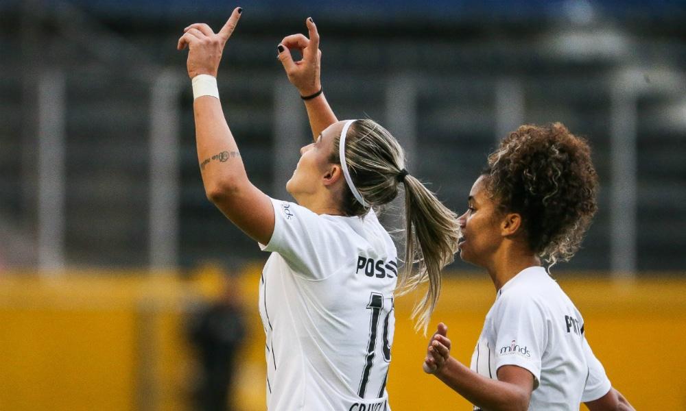 Corinthians vence e pega a Ferroviária na final da Libertadores feminina