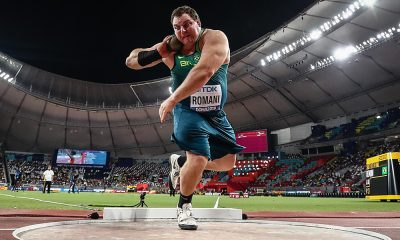 Darlan Romani, no Mundial de Atletismo