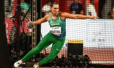 Fernanda Borges, no Mundial de Atletismo