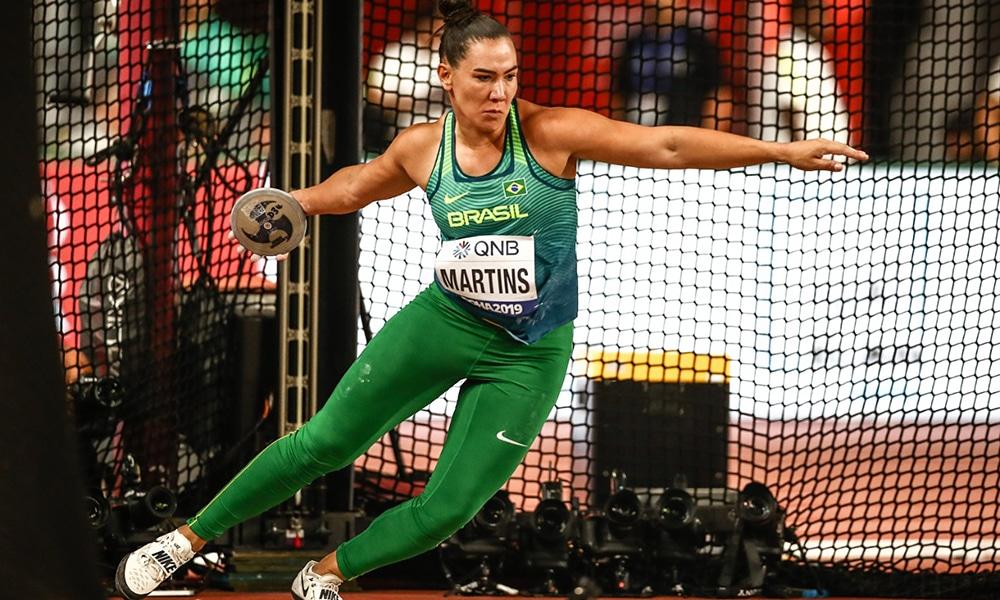 Fernanda Borges, no Mundial de Atletismo lista dos brasileiros classificados para os jogos olímpicos de tóquio-2020