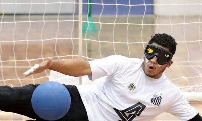 Santos, no Goalball