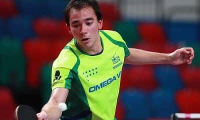 Hugo Calderano, do tênis de mesa