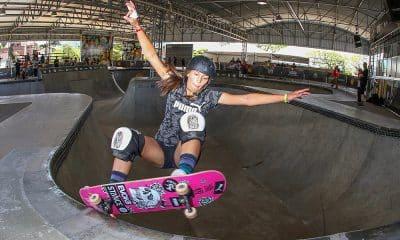 Isadora Pacheco, do skate