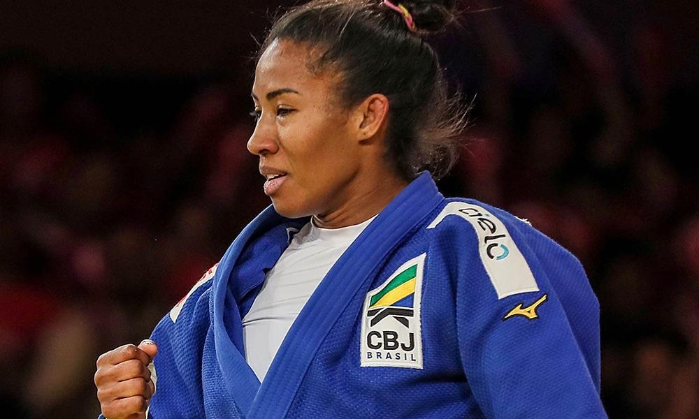 Ketleyn Quadros, da seleção brasileira de judô, vai disputar o Grand Prix de Tel Aviv