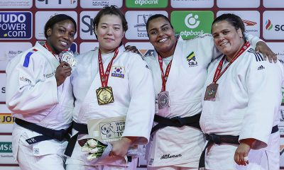Maria Suelen Altheman, bronze no Grand Slam de Abu Dhabi