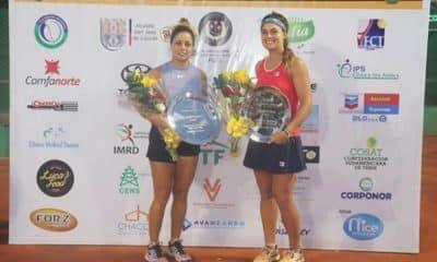 Carolina Meligeni é campeã de duplas do ITF de Cucuta, Colômbia