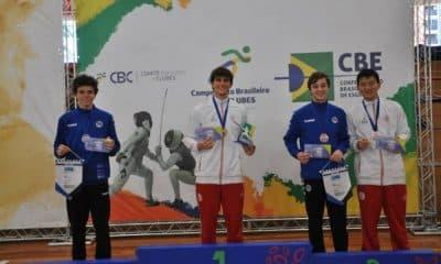 Definidos os campeões Sub-17 do Brasileiro Cadete e Juvenil de esgrima