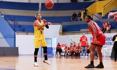 Ariadna Felipe, do Santo André/APABA no Paulista de basquete feminino