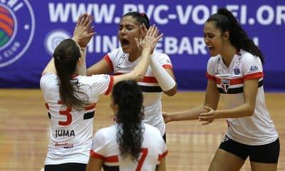 São Paulo/Barueri no Campeonato Paulista feminino de vôlei