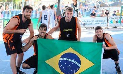 São Paulo DC na Copa do Mundo Universitária de basquete 3x3 na China