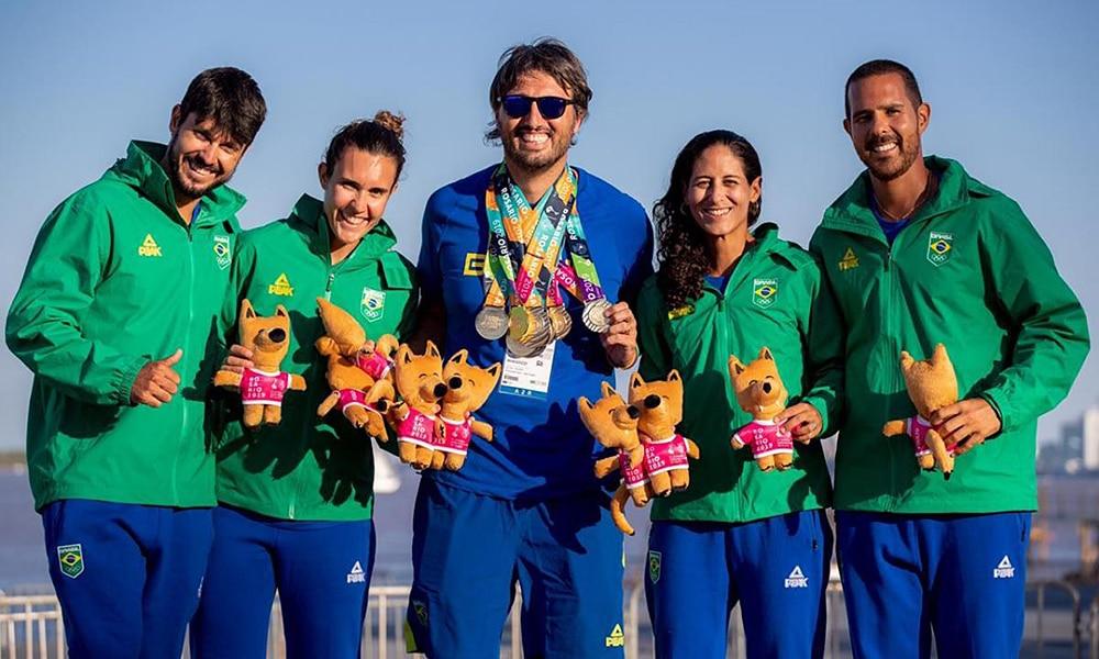 Seleção Brasileira de beach tennis dos Jogos Mundiais de Praia