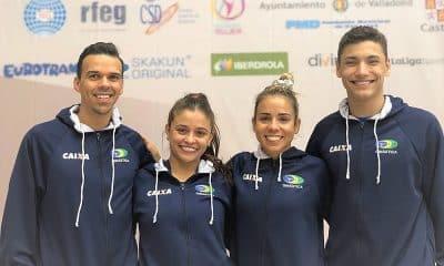 Brasil na Copa do Mundo de ginástica em trampolim