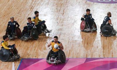Seleção brasileira de rúgbi em cadeira de rodas nos Jogos Parapan-americanos