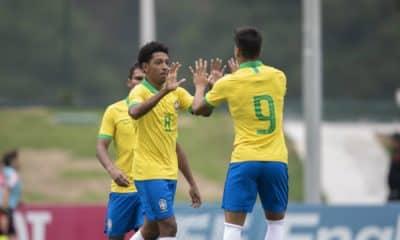 Em amistoso, Brasil vence EUA antes de estrear no Mundial Sub-17