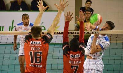 Taubaté e Sesi, no Paulista de vôlei masculino
