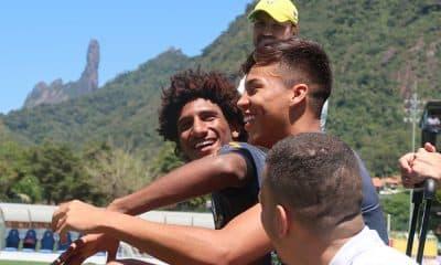 Talles Magno na seleção brasileira sub-17
