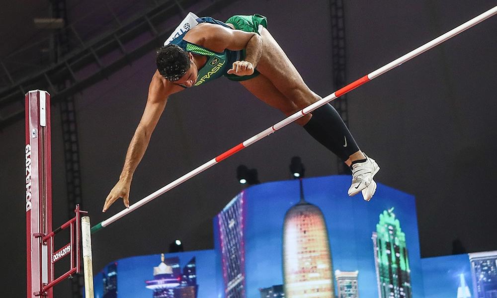 Thiago Braz, do salto com vara