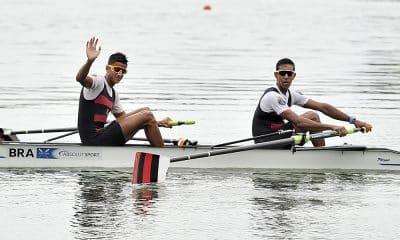 Vangelys Reinke e Emanuel Borges - Equipe de Remo do Flamengo