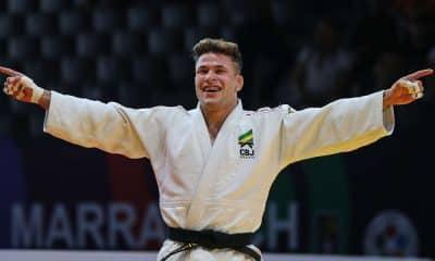 William Lima, campeão do Mundial Júnior de Judô