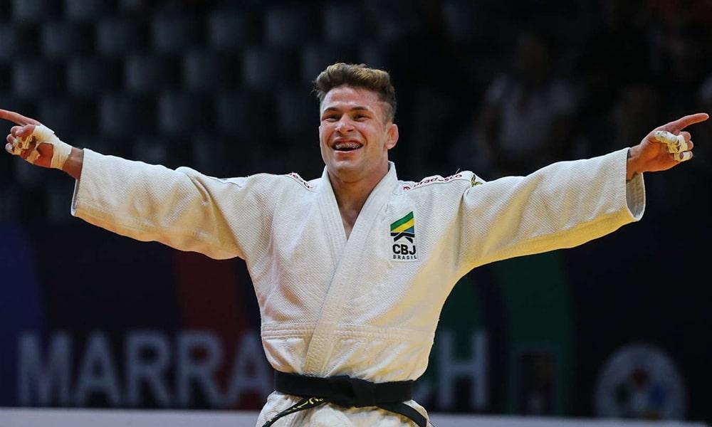William Lima, campeão do Mundial Júnior de Judô grand slam budapeste