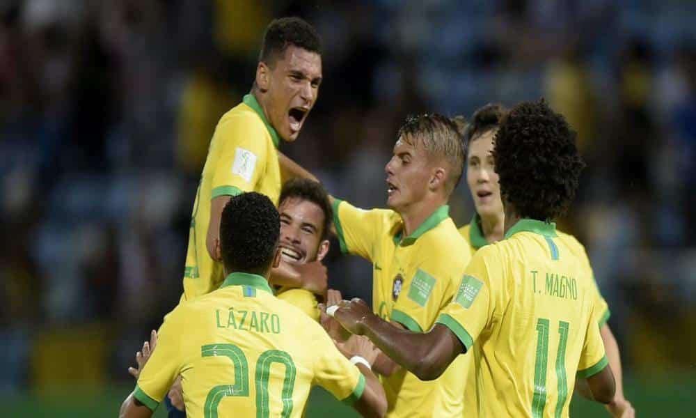 Brasil enfrenta o México na final da Copa do Mundo Sub-17 de futebol