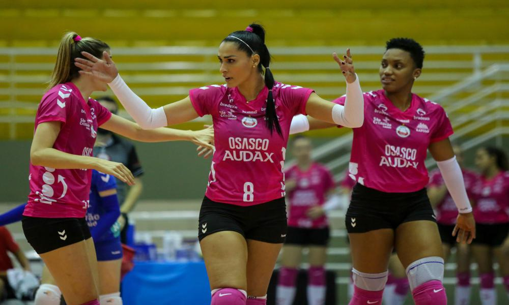 Osasco Audax x São Caetano - Superliga feminina