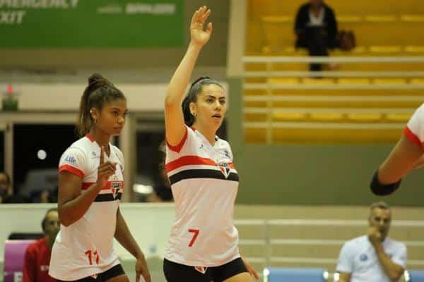 Flamengo x São Paulo/Barueri - Superliga feminina