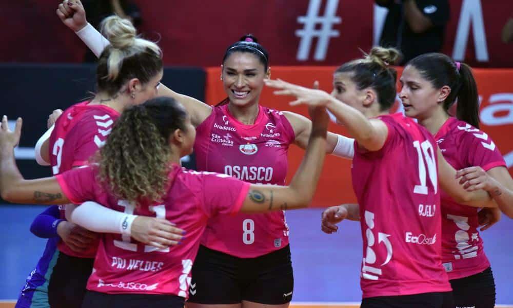 Osasco-Audax x Pinheiros - Superliga Feminina
