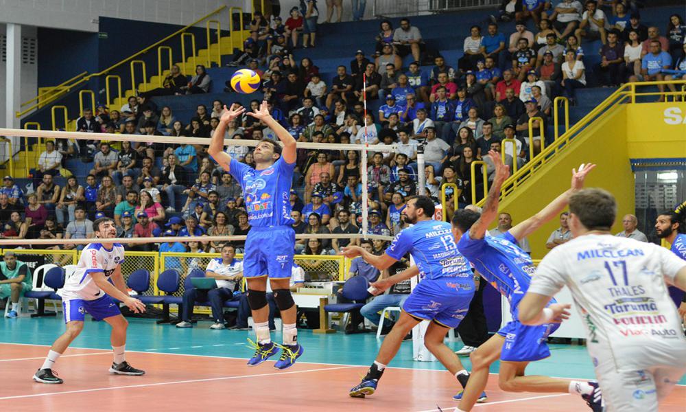 Taubaté x Vôlei Ribeirão - Superliga Masculina