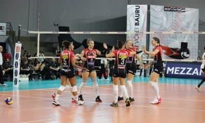 Sesi Bauru x São Caetano - Superliga Feminina