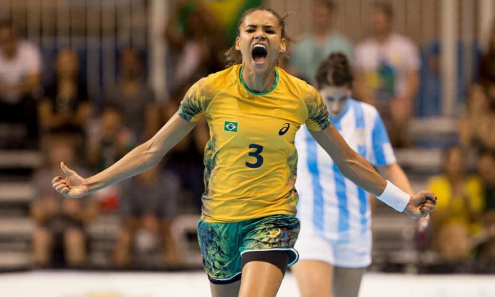 Alexandra Nascimento - Jogos Olímpicos de Tóquio 2020 - seleção brasileira de handebol feminino