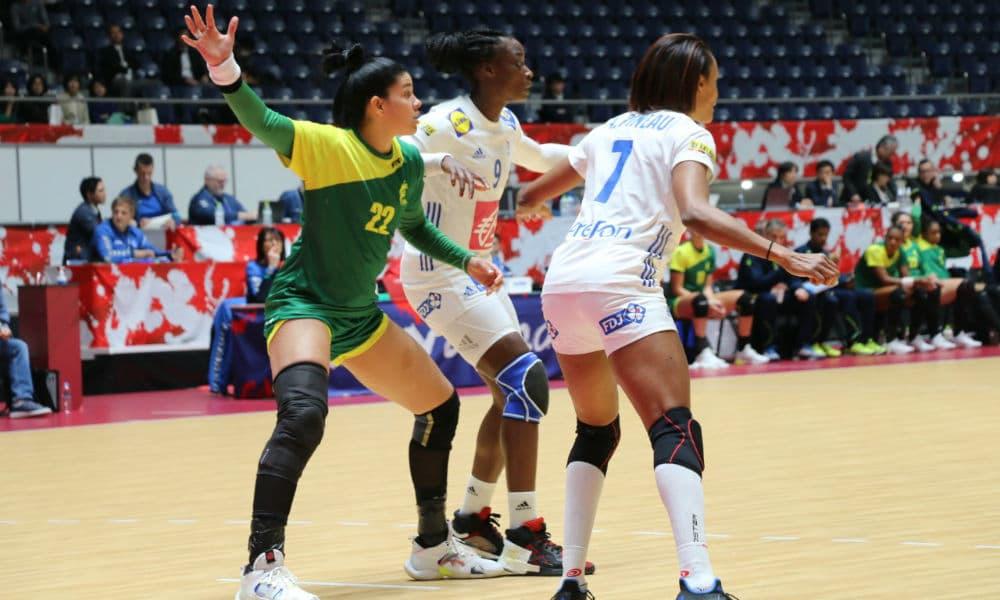Brasil x França Japan Cup handebol feminino