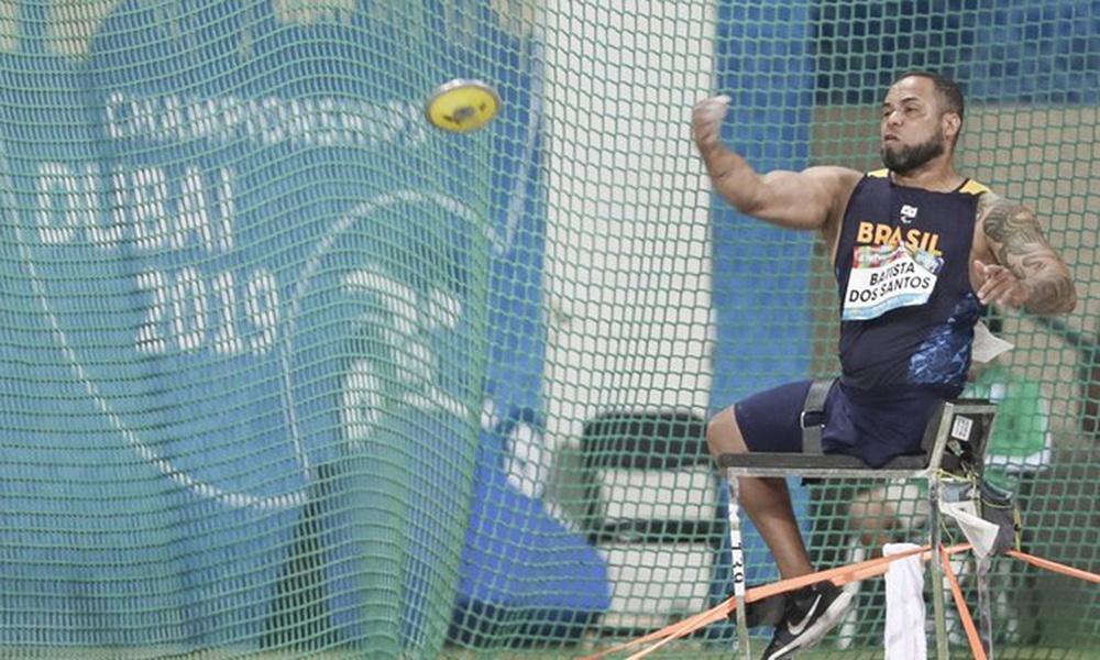 Claudiney Batista campeão com recorde no Mundial de Atletismo Paralímpico