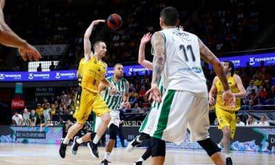 Marcelinho Huertas, do Iberostar Tenerife de basquete, na Liga ACB