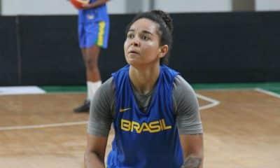 Treino da seleção feminina adulta de basquete - Foto Divulgao/CBB
