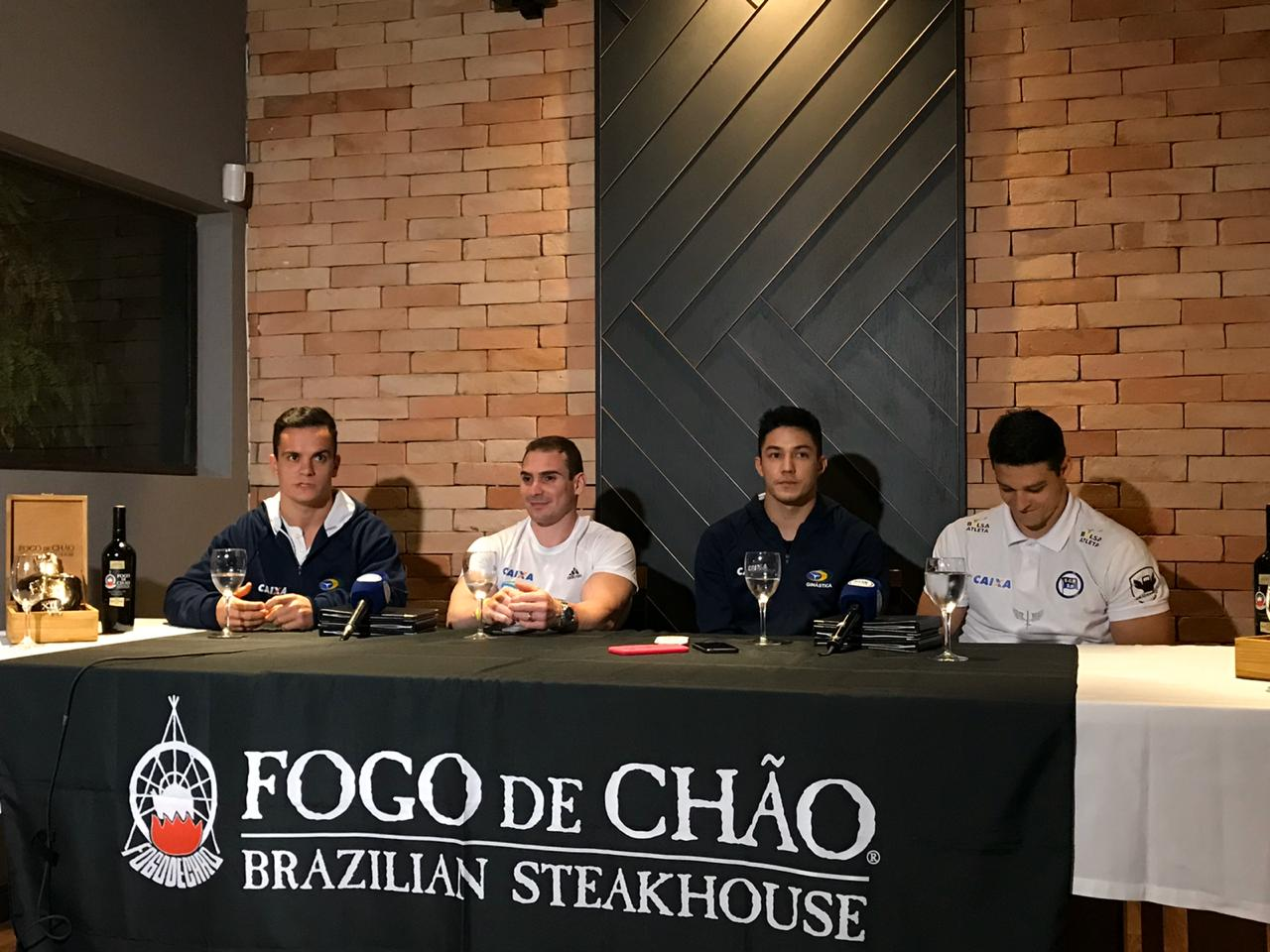 Caio Souza, Arthur Zanetti, Arthur Nory e Chico Barreto - Tóquio 2020