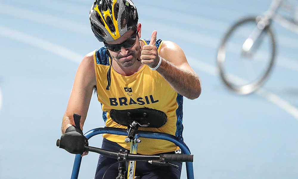 Adriano de Souza foi bronze nos 100m RR3 do Mundial de Atletismo Paralímpico de Dubai
