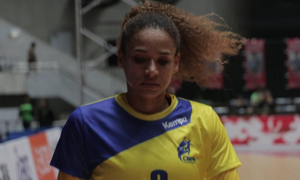 Alexandra Nascimento - seleção brasileira de handebol feminino - Jogos Olímpicos de Tóquio 2020