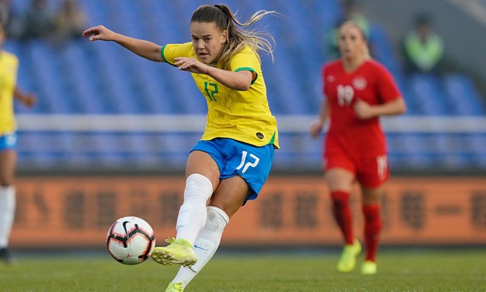 Andressinha, da Seleção de futebol feminino