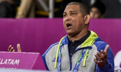 Angel Torres, técnio da seleção brasileira de wrestling